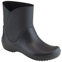 Crocs - Women's RainFloe Bootie - Gummistiefel Gr W5;W6 blau/schwarz;oliv;schwarz