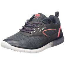 O'Neill Zephyr Lt W SL, Damen Sneakers, Grey (Dark Grey Melee), 37 EU (4.5 UK)