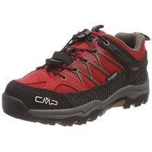 CMP Unisex-Kinder Rigel Trekking-& Wanderhalbschuhe, Rot (Ferrari-Tortora), 33 EU