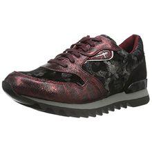 Tamaris Damen 23610 Sneaker, Rot (Bordeaux Comb 550), 41 EU