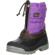 Vista Canada Polar Damen Kinder Winterstiefel Snowboots lila, Doppelgröße:33/34;Farbe:Violett
