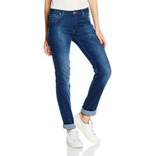 Lee Damen, Straight Leg, Jeans, Marion, GR. W28/L32 (Herstellergröße:28/31), Blau (night Sky)