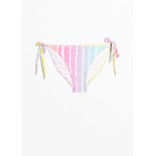 Side Tie Bikini Briefs - Pink