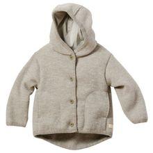 Disana 32310XX - Walk-Jacke Wolle grau, Size / Größe:110/116 (4-5 Jahre)