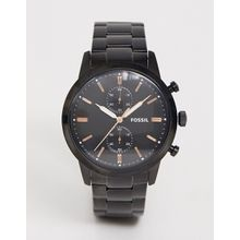 Fossil - Armbanduhr für Herren in Schwarz, FS5379 - Schwarz