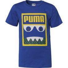 PUMA T-Shirt 'Monster' saphir / senf