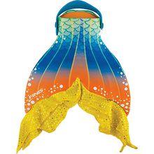 Überzug Meerjungfrauflosse Mermaid Fin Starfish bunt  Kinder