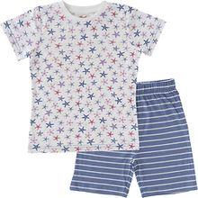 Schlafanzug , Organic Cotton mehrfarbig Mädchen Kleinkinder