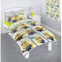 MINIONS Ich - Einfach unverbesserlich-Bettbezug für Einzelbetten, mit Kissenbezug