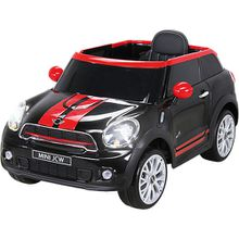 Kinder Elektroauto Mini Cooper Paceman, schwarz