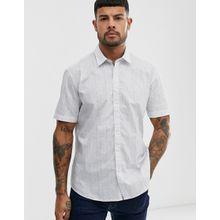 Esprit - Elegantes Hemd mit feinen Streifen - Weiß