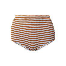 Solid & Striped - The Jamie Geripptes Bikini-höschen Mit Streifen - Himmelblau