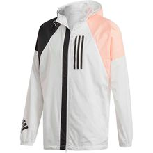 adidas Performance Kapuzenjacke WND Trainingsjacken weiß Herren