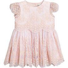Kinder Tüllkleid rosa Mädchen Baby