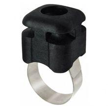 RIXEN & KAUL - KLICKfix Quad Mini Bloc Adapter schwarz