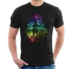 Cowboy Bebop Knockin On Heavens Door Rainbow Men's T-Shirt