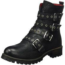 s.Oliver Damen 25454 Biker Boots, Schwarz (Black), 37 EU