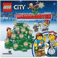 CD LEGO City 08 - Weihnachten - Angriff der Schneemänner Hörbuch
