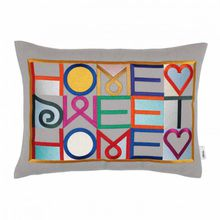 Vitra Embroidered Kissen, Home Sweet Home