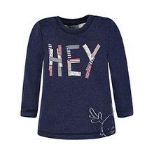 Kanz Jungen T-Shirt 1722427, Blau (Black Iris Melange 8008), 74