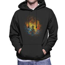 Pirate Art Monkey D Luffy One Piece Men's Hooded Sweatshirt