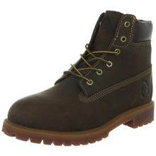 Timberland Authentics FTK 6 In WP Boot 80903, Unisex-Kinder Stiefel, Braun (Medium Brown), EU 36 (US 4)