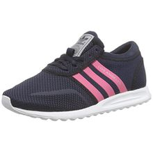 adidas Originals Los Angeles, Unisex-Kinder Sneakers, Blau (Legend Ink S10/Spring Pink S16-St/Ftwr White), 38 2/3 EU (5.5 Kinder UK)