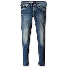 Pepe Jeans Mädchen Pixlette Jeans, Blau (Denim), 16 Jahre