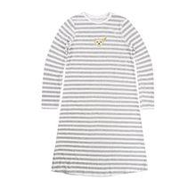 Steiff Unisex - Baby|Baby - Mädchen|Baby - Jungen Nachthemd, Gr. 122 (Herstellergröße: 7 Jahre), Grau (softgrey)
