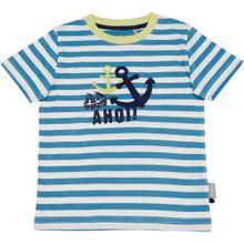 SIGIKID T-Shirt blau / nachtblau / gelb / weiß