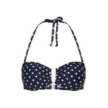 ABOUT YOU Bikini Top 'Melanie' navy / offwhite