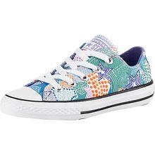 Sneakers Low CTAS OX WHITE/WILD LILAC/BLACK  blau/weiß Mädchen Kinder