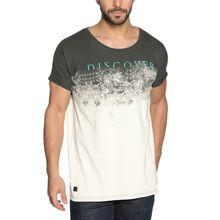 Khujo T-Shirt in grün für Herren