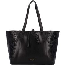 The Bridge Capraia Shopper Tasche Leder 37 cm schwarz Damen