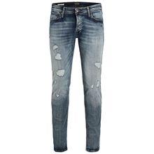 JACK & JONES Glenn Original Jos 676 Slim Fit Jeans Herren Blau