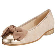 Gabor Shoes Damen Basic Geschlossene Ballerinas, Mehrfarbig (Rame/ENGL.Rose), 40.5 EU