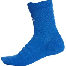 ADIDAS PERFORMANCE Socken 'Alphaskin Crew Ultralight' blau / weiß