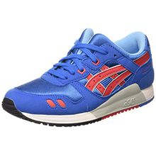 Asics Gel-Lyte Iii GS, Unisex-Kinder Sneakers, Blau (Classic Blue/Classic Red 4223), 36 EU