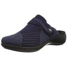 Romika Damen Ibiza Home 306 Pantoffeln, Blau (Marine-Kombi 514), 41 EU