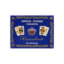 """Rommé, Edition """"Kaiserkarte"""" (Spielkarten)"""