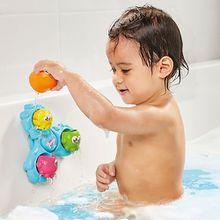 Badespielzeug Dreh- und Spritz Oktopus