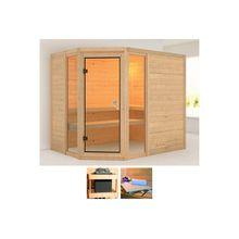 KARIBU Sauna »Sinai 3«, 236x184x208 cm, ohne Ofen