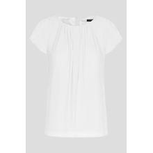 Bluse mit Fältchen-Details