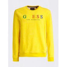 GUESS Sweatshirt gelb / mischfarben