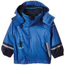 Sterntaler Baby - Jungen Regenmantel 5651510, Gr. 98, Blau (kobaltblau 353)