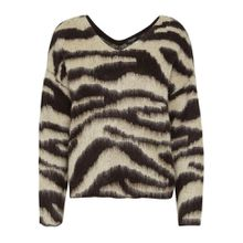SOAKED IN LUXURY V-Ausschnitt-Pullover