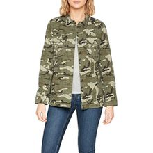 TOM TAILOR Denim Damen Jacke Utility Field Jacket, Grün (White2 1002), Medium