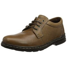 Hush Puppies Herren George Hanston Derbys, Braun (Brown), 43 EU