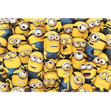 Star Licensing Universal Minions Teppich, Polyester, mehrfarbig, 40 x 60 x 1 cm