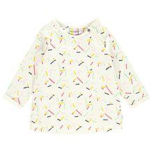 Kinder Kleid Pacifica weiß Mädchen Baby